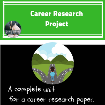 Career Unit with Differentiated Research Paper