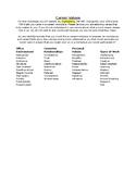 Career Values Worksheet