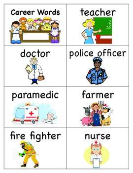 Career Word Cards