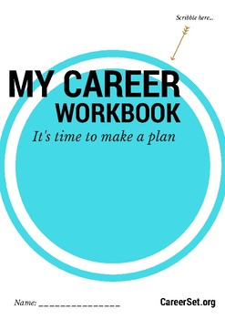 Career Workbook for years 8-12: strengths, values, mindmaps and action plans