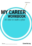 Career Workbook for years 8-12: strengths, values, mindmap