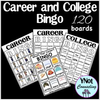 Career and College Bingo