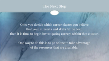 Career and College Readiness Lesson Career Clusters Pathways w 2 video links