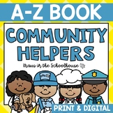 Community Helpers A-Z Book