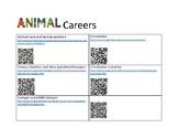 Career bulletin board using QR codes