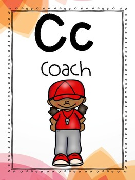 Careers Alphabet Line - Elementary School Counseling