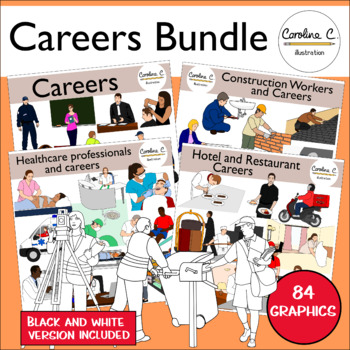 Careers Clip Art Bundle