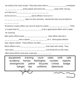 Careers-Community Helpers Activity Pages