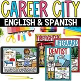 Careers Community Helpers Digital Google Slides™ & Printab