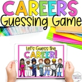 Careers/Community Helpers Guessing Game & Mini Coloring Book!