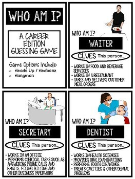 Careers Games for Special Education, Transition and Life Skills