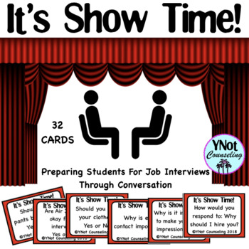 Careers: It's Showtime! Conversation Starter