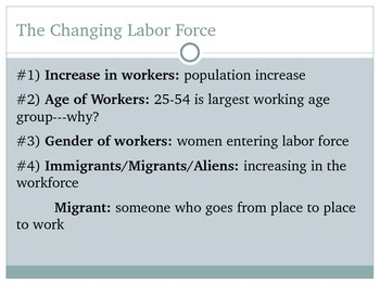 Careers, Jobs, The Workforce & Labor Unions