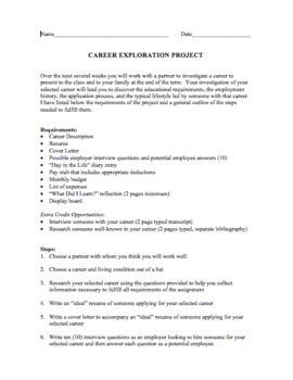 Career Exploration Project