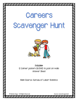 Careers Scavenger Hunt