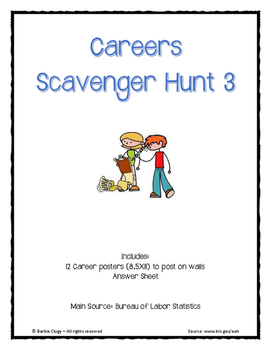 Careers Scavenger Hunt 3