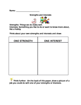 Careers - Strengths and Interests
