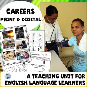Careers Unit for Newcomer and Intermediate ESL English Language Learners