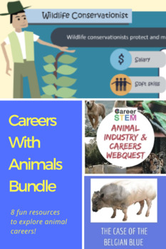 Careers With Animals Bundle - 100+ pages!