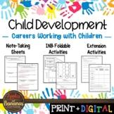 Careers Working With Children- Interactive Notebook Activities