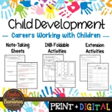 Careers Working With Children- Interactive Notebook Activities