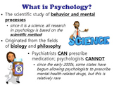 Careers and Issues in Psychology PowerPoint