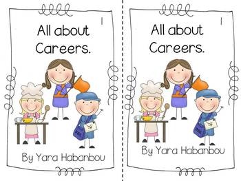 Community Helpers Careers and Jobs {an emergent reader for