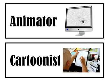 Careers in Art Bulletin Cards