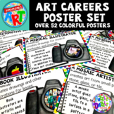 Careers in Art Poster Set