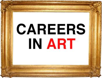 Careers in Art- Poster Set for Elementary Art Classroom/ Art Teachers