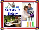Careers in Biology  Mini Posters For Classroom Display