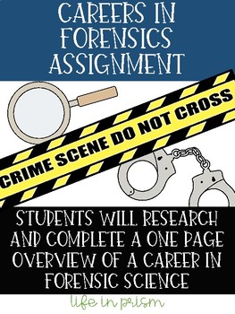 Careers in Forensics Assignment