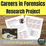 Careers in Forensics Blog Post Research Project