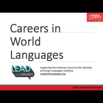Careers in Languages Presentation