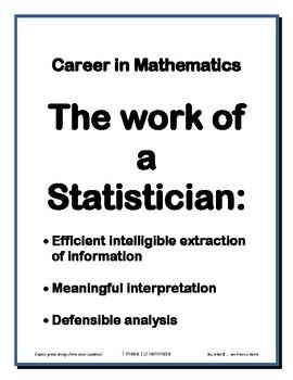 Careers in Mathematics Stats
