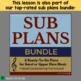 """Music Sub Plan """"Careers in Music"""" for Band, Orchestra or Choir"""