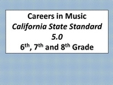 Careers in Music (Standard 5.0 CA)