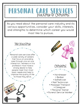 Careers in Personal Care FREEBIE