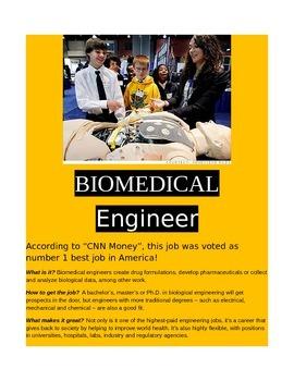 Careers in Science- Biomedical Engineer!