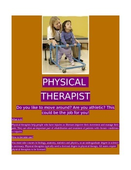 Careers in Science- Physical Therapist!