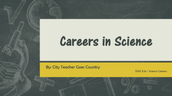 Careers in Science PowerPoint
