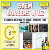 Careers in Science, Technology, Engineering and Math Quiz
