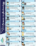 Careers in Technology Poster - 18 STEM jobs! (elementary t
