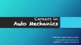 Careers with Auto Mechanics/ Cars- GREAT CTE RESOURCE