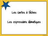 Cartes à tâches - Les expressions idiomatiques