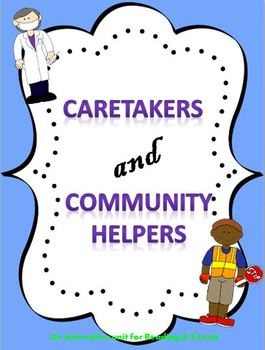 Caretakers and Community Helpers Interactive PPT