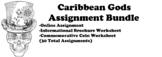 Caribbean Gods Assignment Bundle