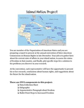 Caribbean Island Nation Project