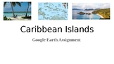 Caribbean Islands Google Earth Assignment
