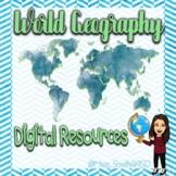 Caribbean South America Digital Map Activity